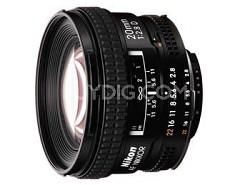 20mm F/2.8D AF Nikkor Lens, With Nikon 5-Year USA Warranty
