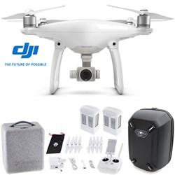 Phantom 4 Advanced Quadcopter Drone w/ Hardshell Backpack + Spare Battery Bundle