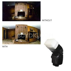 Hard Flash Diffuser for Canon 580EX