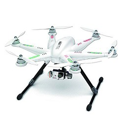 "TALI H500 Ready to Fly Hexcopter 5"" LCD-Remote G-3D Gimbal Go Pro Transfer Wire"