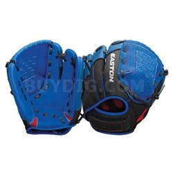 "Z-Flex Youth Glove Blue 10"""