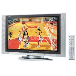 """TH-37PD25U/P 37"""" Plasma TV with Built-In ATSC/QAM/NTSC Tuners and CableCard Slot"""