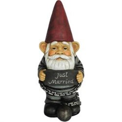 Just Married Gnome