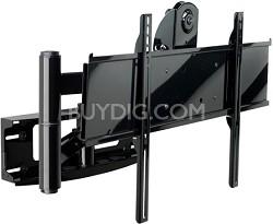 PLA-50 Articulating Swivel Wall Mount (Black) w/ screen adapter plate - OPEN BOX