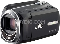 Everio GZ-MG750B w/ 80GB and micro SD/SDHC card slot Camcorder OPEN BOX