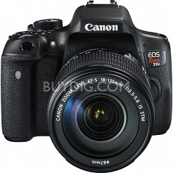 EOS Rebel T6i Digital SLR Camera with EF-S 18-135mm IS STM Lens Kit