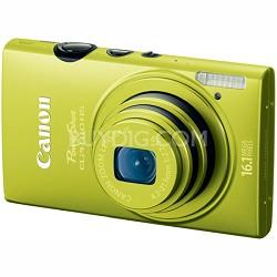 PowerShot ELPH 110 HS 16.1MP CMOS Green Digital Camera 5x Opt Zoom 1080p HD Vid