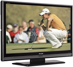 "LC-42D65U - AQUOS 42"" High-definition 1080p LCD TV"