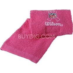NFL Field Football Towel - Pink