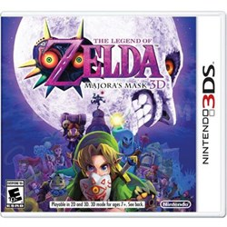 Legend of Zelda Majoras 3DS