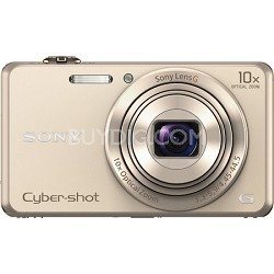 DSC-WX220 Gold Compact Point and Shoot Digital Still Camera