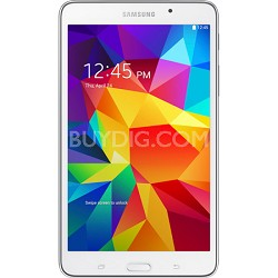 "Galaxy Tab 4 White 8GB 7"" Tablet - 1.2 GHz Quad Core Proc.Android 4.4 - OPEN BOX"