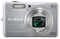 "FINEPIX J150W 10MP 5x Optical Zoom 3"" LCD Digital Camera (Silver)"
