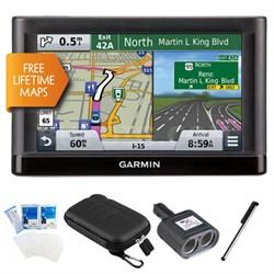 nuvi 56LM Essential Series GPS Navi w/ Lifetime Maps Plus Essentials Bundle