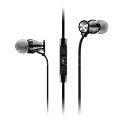 Momentum In-Ear Headphones for iOS Devices - Black/Chrome (506814)