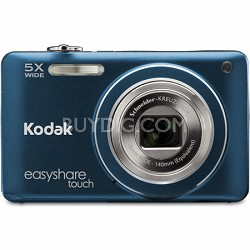 "EasyShare Touch M5370 16MP Wide 5x Zoom 3"" Touchscreen LCD Blue Digital Camera"