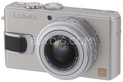 """DMC-LX2 (Silver) Lumix 10.2 megapixel Digital Camera w/ 2.8"""" TFT LCD"""