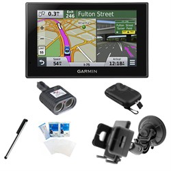 "nuvi 2539LMT Advanced Series 5"" GPS Navigation System Lifetime Maps Mount Bundle"