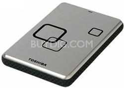 DS TS Canvio HD 640GB USB 2.0 Portable External Hard Drive - Satin Silver
