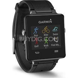 Vivoactive GPS-Enabled Fitness Smartwatch (Black)