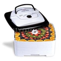 Food Dehydrator - 700 Watts, Square, 4 Trays - Square Shaped (FD-80)