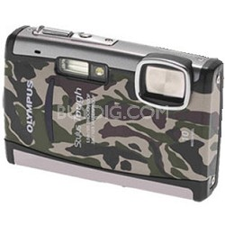 "Stylus Tough 6000 10MP 2.7"" LCD Digital Underwater Camera (Camouflage)"