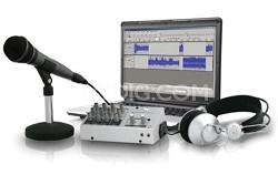 PM-21 Podcast Mixer Kit Silver