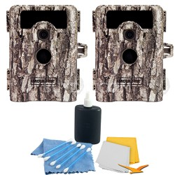 2-Pack D-555i 8MP No Glow Infrared Wide Angle Game Camera