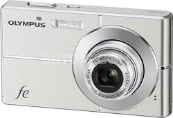 "FE-3000 10MP 2.7"" LCD Digital Camera (Titanium) - REFURBISHED"