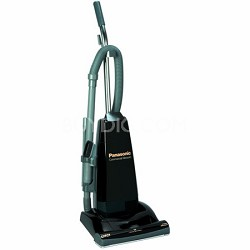 MC-V5210 - Commercial Upright Vacuum Cleaner with Tools On-Board, Black