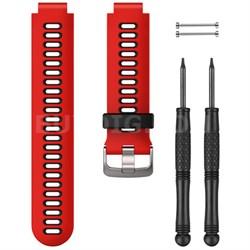 Forerunner 735XT Watch Band - Lava Red/Black (010-11251-0N)
