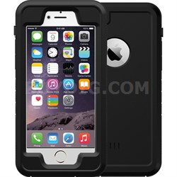 "Black 4.7"" Shock Resistant Waterproof Case for Apple iPhone 6/6S"