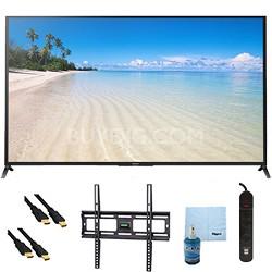 "60"" 1080p 120Hz Smart 3D LED HDTV Plus Mount and Hook-Up Bundle - KDL60W850B"