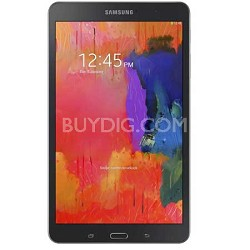 "Galaxy Tab Pro 8.4"" Black 16GB Tablet - 2.3 GHz Quad Core Processor Refurbished"