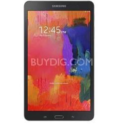 "Galaxy Tab Pro 8.4"" Black 16GB Tablet - 2.3 GHz Quad Core Processor Refurbished"