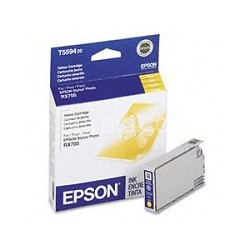 Yellow Ink Cartridge for Epson Stylus Photo RX700