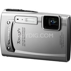 Tough TG-310 14 MP Waterproof Shockproof Freezeproof Digital Camera - Silver