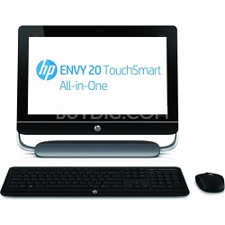 Envy 20-d030 Win 8 Intel Core i3-3110M 20-Inch All-in-One Desktop - OPEN BOX