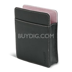 Black Carrying Case with Pink Lining for Nuvi 200/300 series