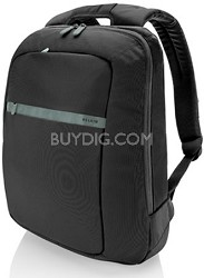 15.6-Inch Core laptop Backpack (Pitch Black/Soft Gray) - F8N116-KSG