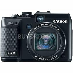 PowerShot G1X 14.3 MP Digital Camera 1080p Full HD Video 3.0 Inch Vari-Angle LCD