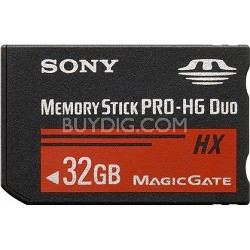 32 GB Memory Stick PRO-HG DUO HX High Speed
