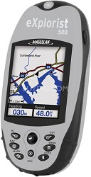 eXplorist 500LE Rugged Compact Color Handheld GPS Receiver