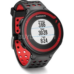 Forerunner 220 Black/Red Bundle with Heart Rate Monitor