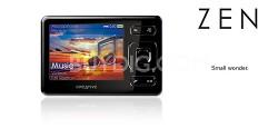 Creative ZEN 16GB MP3/ Multi Player