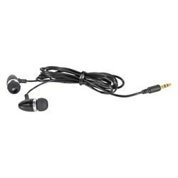Metal Ear Buds - Black