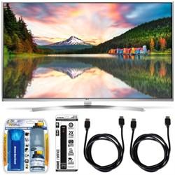 55UH8500 - 55-Inch Super Ultra HD 4K Smart LED TV w/ webOS 3.0 Accessory Bundle