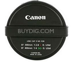 E-145 Lens Cap for EF 300 f/2.8L IS USM, EF 400 f/4 DO IS USM Lens