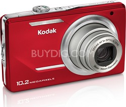 "EasyShare M380 10.2 MP 3.0"" LCD 5x Zoom Digital Camera (Red)"