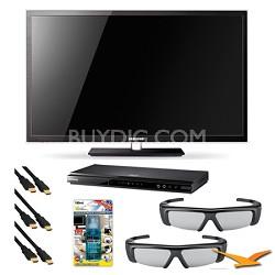 PN51D7000 51 inch 3D 1080p Wifi Plasma 3D Kit